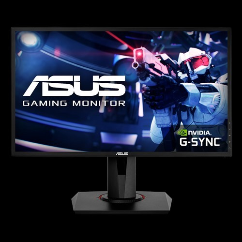 "ASUS VG248QG 24"" FHD 0.5ms 165Hz G-SYNC Compatible, Adaptive Sync, Speakers, Pivot, DVI/HDMI/DP Gaming Monitor"