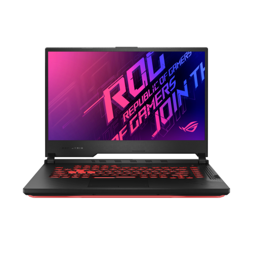 "ASUS ROG Strix G15 G512LU-Q72P-CB Black 15.6"" FHD 144Hz Intel core i7-10750H 16GB RAM 2x512GB NVMe SSD NVIDIA GeForce GTX 1660 Ti 6GB Graphics Win10 Pro 2YW/1ADP French Bilingual Gaming Notebook"