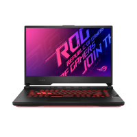 "ASUS ROG Strix G15 G512LU-Q72P-CB Black 15.6"" FHD 144Hz Intel core i7-10750H 16GB RAM 2x512GB NVMe SSD NVIDIA GeForce GTX 1660 Ti 6GB Graphics Win10 Pro 2YW/1ADP French Bilingual Gaming Notebook"