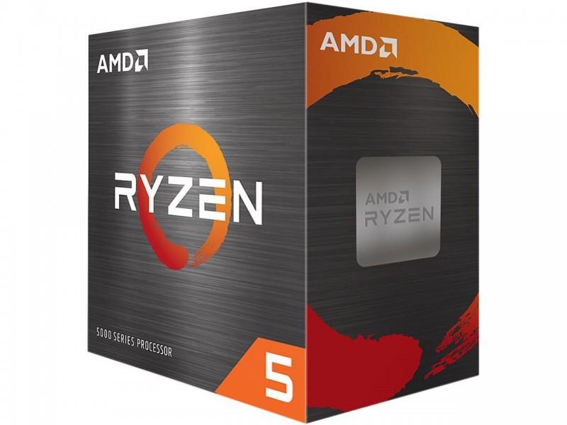 AMD Ryzen 5 5600X 3.7GHz 6C/12T Socket AM4 65W Wraith Stealth Cooler ZEN 3 CPU Processor (100-100000065BOX)