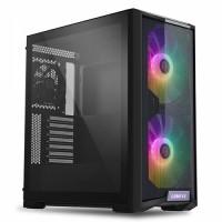 Lian Li LANCOOL 215 Black Tempered Glass 200mm ARGB Fans E-ATX Mid-Tower Case (LANCOOL 215 X BLACK)