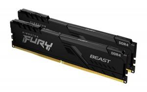 Kingston FURY Beast DDR4 3200MHz 16GB Kit (2x8GB) CL16 RAM Memory (KF432C16BBK2/16)