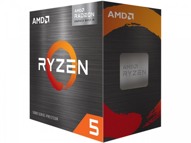 AMD Ryzen 5 5600G 3.9GHz 6C/12T Socket AM4 65W Wraith Stealth Cooler AMD Radeon Graphics CPU Processor (100-100000252BOX)
