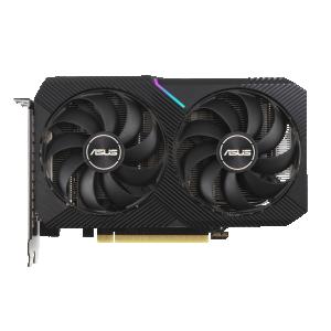 ASUS DUAL GeForce RTX 3060 Ti V2 MINI OC Edition LHR 8GB GDDR6 PCIe 4.0 1xHDMI/3xDP Video Card (DUAL-RTX3060TI-O8G-MINI-V2)